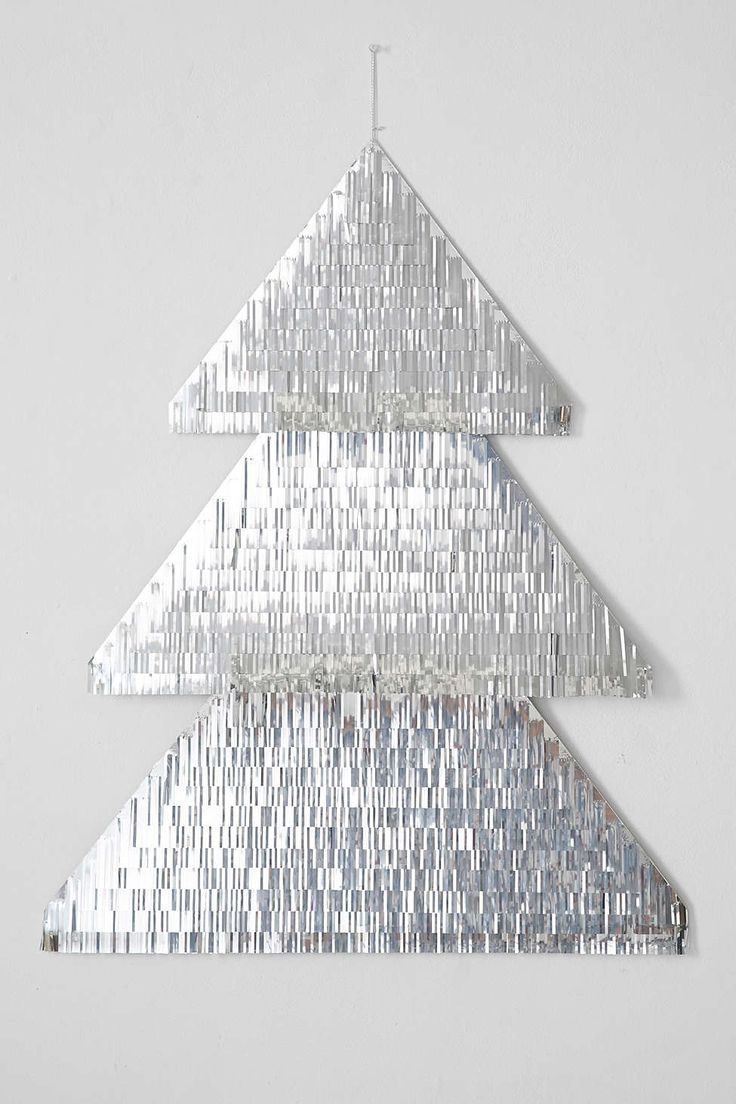 Tinsel Tree Wall Decoration - Urban Outfitters