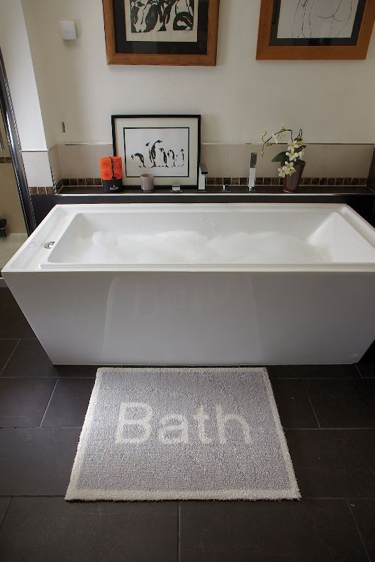 Best Bathroom Mats And Rugs Images On Pinterest Bath Mats - Light gray bath rugs for bathroom decorating ideas