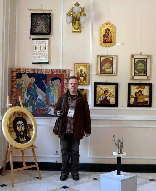 """Vernisaj – Anuala de Artă Religioasă 2017 – Muzeul Național al Satului """"Dimitrie Gusti""""   http://artportfolio.ro"""