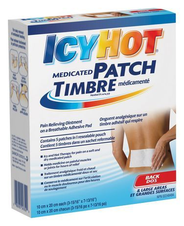 image about Icy Hot Coupons Printable identify Icy Sizzling Medicated Patch Merchandise inside 2019 Warm, On the net