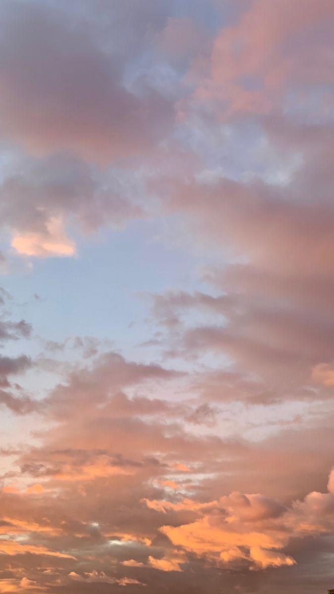 Clouds Background Iphonewallpapers Wallpaper Sunset Sky Aesthetic Clouds Background Pretty Sky Aesthetic clouds landscape wallpaper