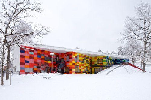 Gefaltete Dachlandschaft Kindertagesstätte Von Dorte: 1000+ Ideas About Day Care Centers On Pinterest