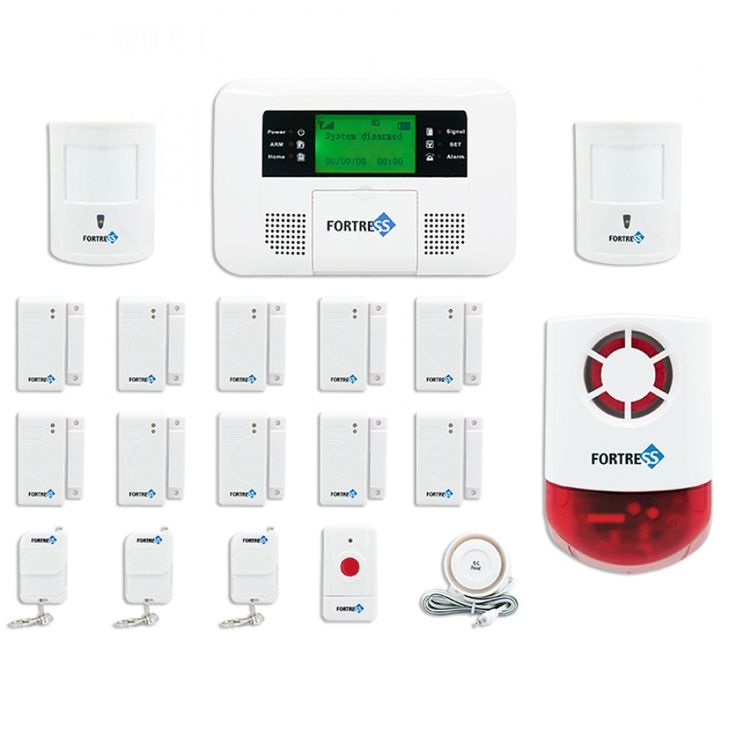 Fortress GSM C Wireless Cellular GSM Home Security Alarm System Auto Dial  System   DIY. 1000  images about GSM Alarm Security System on Pinterest   Blog