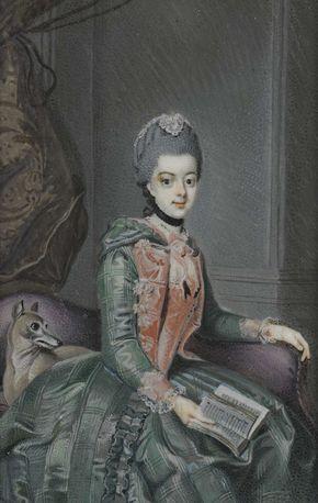 Frederika Sophia Wilhelmina (1751-1820), prinses van Pruisen. Echtgenote van prins Willem V, Anonymous, c. 1770