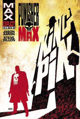 Punisher Max - Kingpin TPB (Punisher Max (Quality Paper)) by Steve Dillon http://www.amazon.co.uk/dp/0785140719/ref=cm_sw_r_pi_dp_Fn31ub1D654ZP