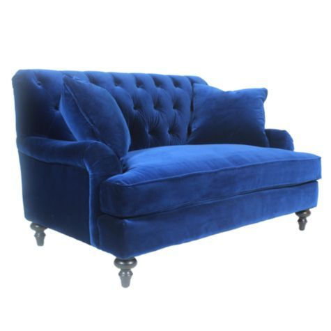 Lucas Love Seat from Z Gallerie