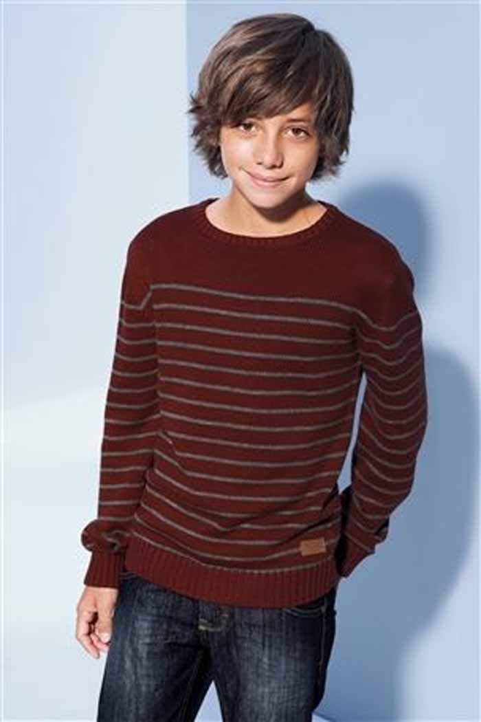 Medium Long Hairstyles for Boys