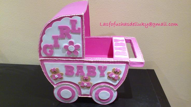 Carrito de bebé en gomaeva ideal para poner los regalitos del ...