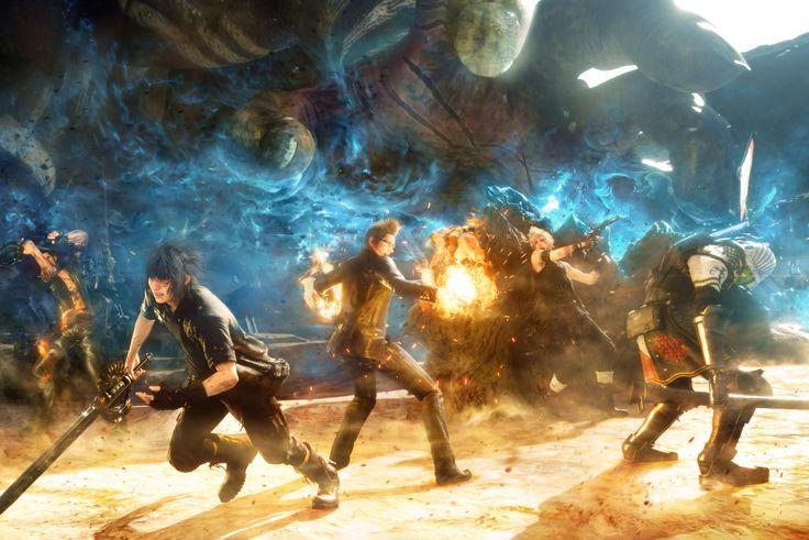 Après celui dédiée à Gladiolus, Final Fantasy XV aura bientôt le droit à un nouvel épisode. Celui-ci sera entièrement consacré à Prompto et comme vous allez pouvoir le voir dans la vidéo présente dans la suite de l'article, ce nouveau DLC va transformer le jeu en un véritable jeu de tir à la troisième personne. Pistolets, fusils d'assaut et même lance-roquette, les soldats impériaux s'en prennent plein la tronche dans cette démonstration. L'épisode Prompto sera disponible à partir du 27 Juin…
