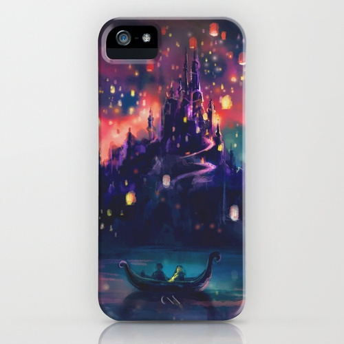 The Lights - Tangled iPhone Case :)