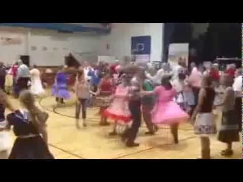 Square Dance at Red Rock Ramblers in Lyons CO with Tom Roper caller - YouTube