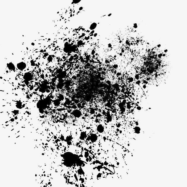 Black Ink Dot Ink Splash Ink Brush Splash Ink Mark Png Transparent Clipart Image And Psd File For Free Download