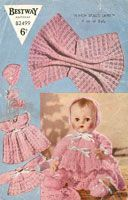 vintage doll knitting patterns