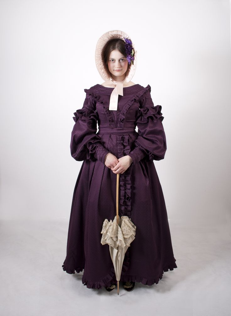 Women's Clothing 1830´s By student Malin Stara