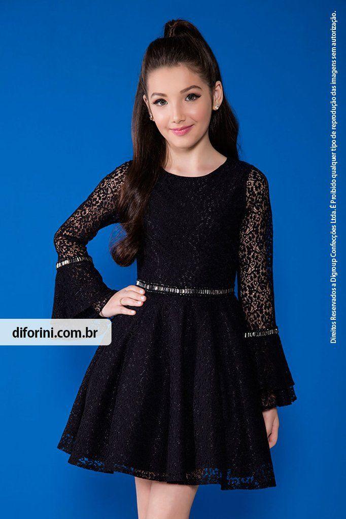 Vestido Infantil Diforini Moda Infanto Juvenil 010819 - Veja nosso novo produto! Se gostar, pode nos ajudar pinando-o em algum de seus painéis :) #princesas