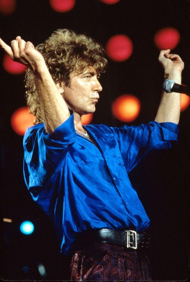 Robert Plant: Led Zeppelin at the Live Aid concert in Philadelphia