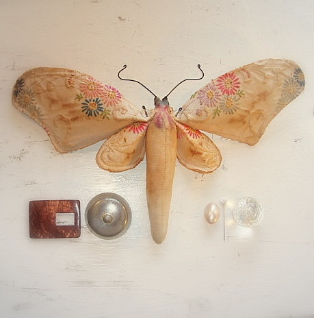 fabric butterfly  ??