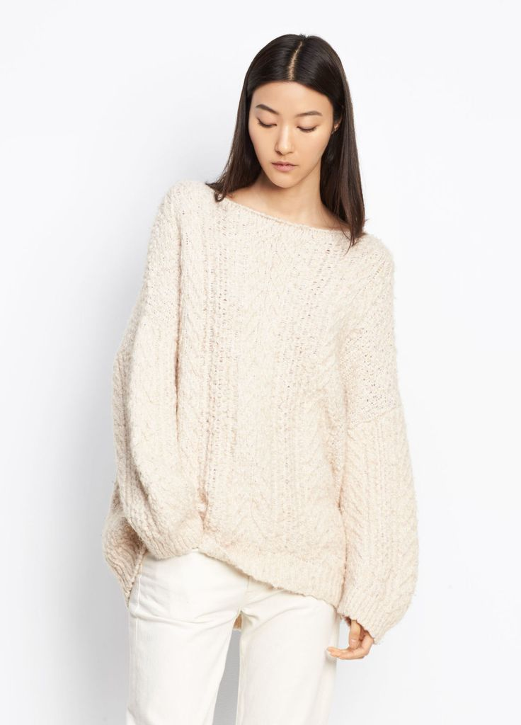 Cable Knit Sweater for Women | Vince
