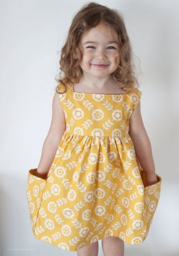 Sally Dress PDF Sewing Pattern --Definitely making for a certain, little lady in my life!
