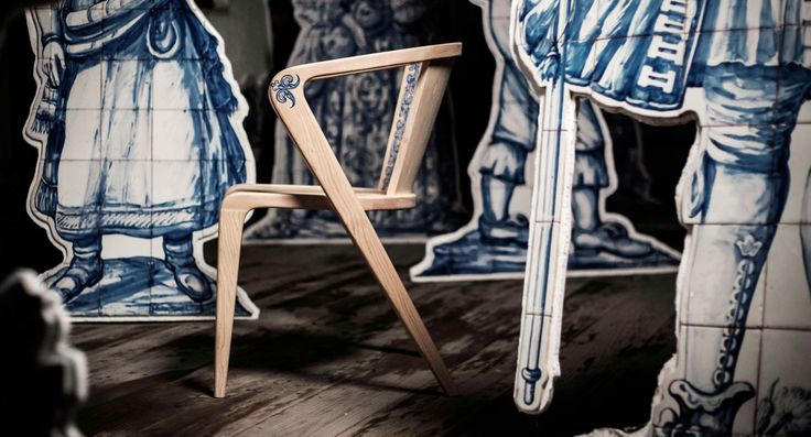 Our 1º Anniversary with a LIMITED EDITION - Portuguese ROOTS Chair and Table hand-painted with the original technique of painting on tile