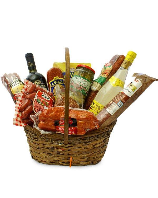 """Cos cadou gourmet special Gurmandul din tine sigur """"striga"""" dupa acest cos cadou care iti va satisface pofta de ceva bun."""