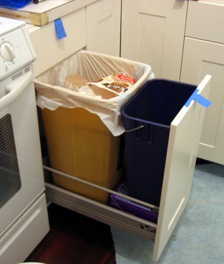 Ikea Trash Pullout
