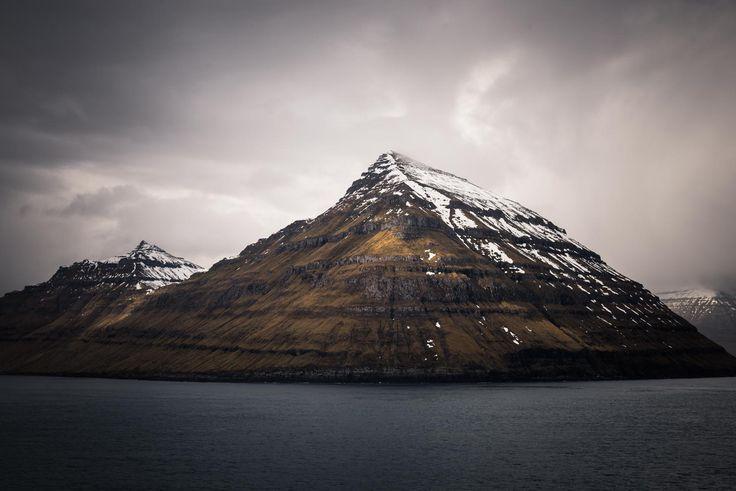 Mountain on the Faroe Islands