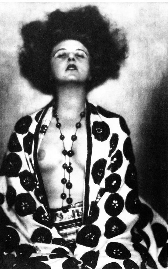 Germany. Cabaret Dancer Anita Berber, Weimar Culture, Berlin, 1923 // dora kallmus (madame d'ora)