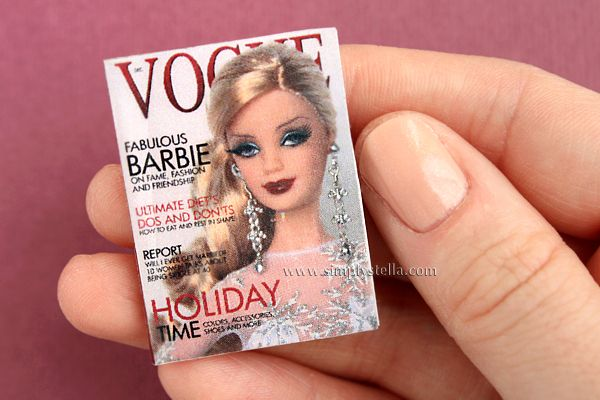 Simplystella's Sketchbook: Free Magazine Printable: Vogue Pastel #1