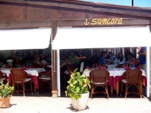 S´Ancora restaurant , Fornells , Menorca ,Spain fresh fish , lovely lobster
