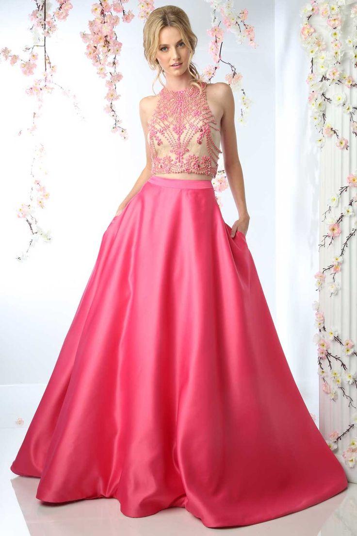 26 mejores imágenes de 2 piece evening gown en Pinterest | Blusas ...
