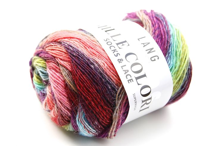 Mille Colori Socks and Lace Herbstfarben