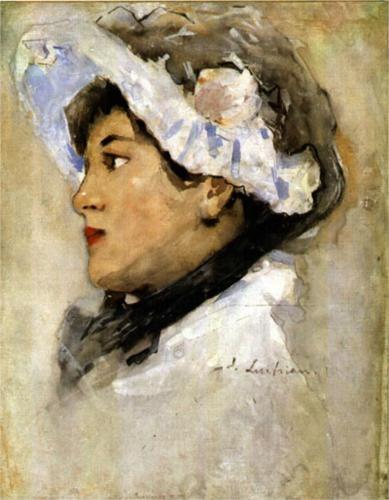 Portrait of a Woman - Stefan Luchian 1901