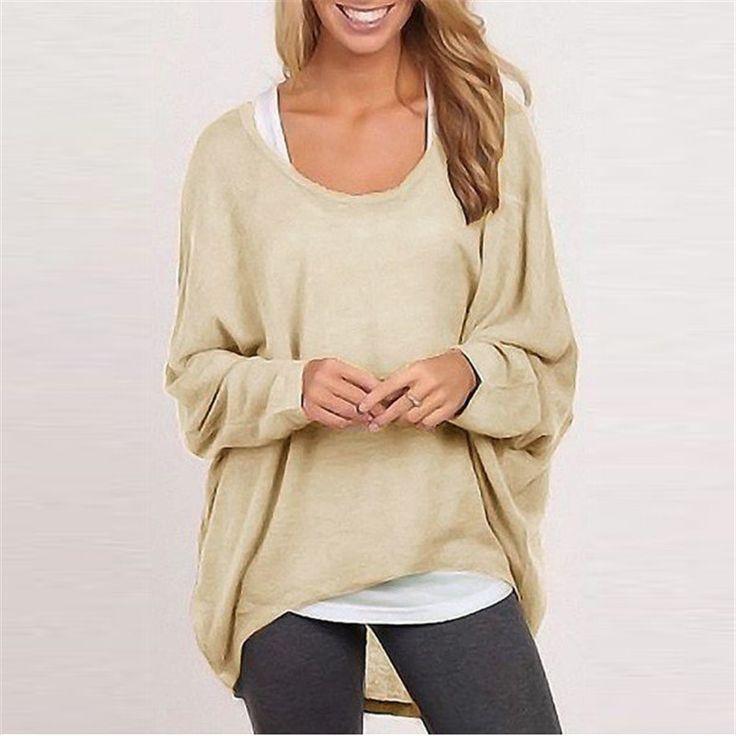 Women Stylish Pullovers Knitting Sweaters