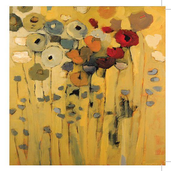 Fine art card Flower bouquet  Blank with by jenniferharwood, $3.99