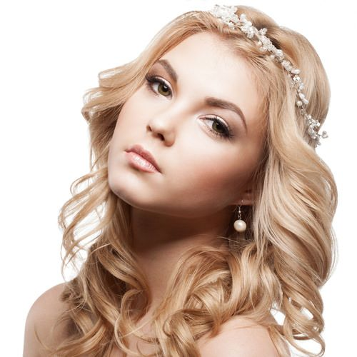 Princess Hairstyle with Curls