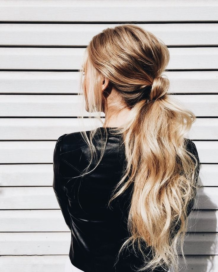 124 Best Hair Ponytail Images On Pinterest Beleza