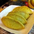 Jamaican Curried Mince Pasties (Very good Reviews). Use Wholemeal flour instead.