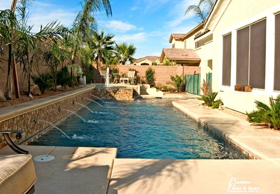 Geometric Swimming Pool Designs | Swimming Pool Contractors | Premier Pools And Spas