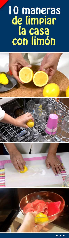 10 maneras de limpiar la casa con limón