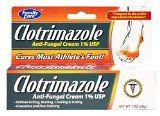 [3 Pack] Clotrimazole Anti-Fungal Cream 1% USP Compare to Lotrimin