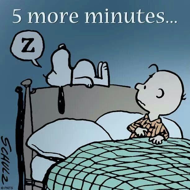 I say this every morning!