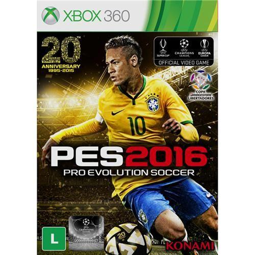 Jogo Pro Evolution Soccer 2016 - Xbox 360