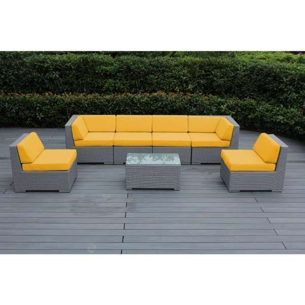 Yellow Patio Furniture