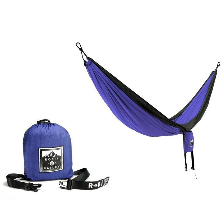 no.1 BEST Double Hammock by Rosie and  Bailey- Portable and Lightweight Parachute Hammocks for Camping or Backpacking -- Quickly view this special  product, click the item shown here : Camping gear