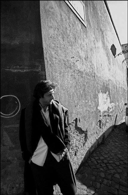 Ferdinando Scianna 2002 ITALY, Roma, Italian actor Adriano GIANNINI