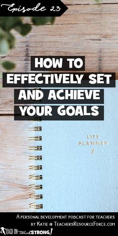 As we wrap up 2017, we're likely to be thinking about setting goals for 2018. However, there's a sad reality that most people don't keep to their goals or new year's resolutions. In this episode we explore some of the pitfalls people fall into when goal setting and I share some different strategies I have in how to effectively set and actually achieve your goals.