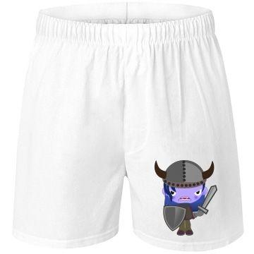 Viking Vampire Unisex Boxercraft Cotton Boxer Shorts