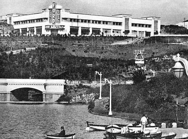 Rua Castilho, Palácio Ford, 1932