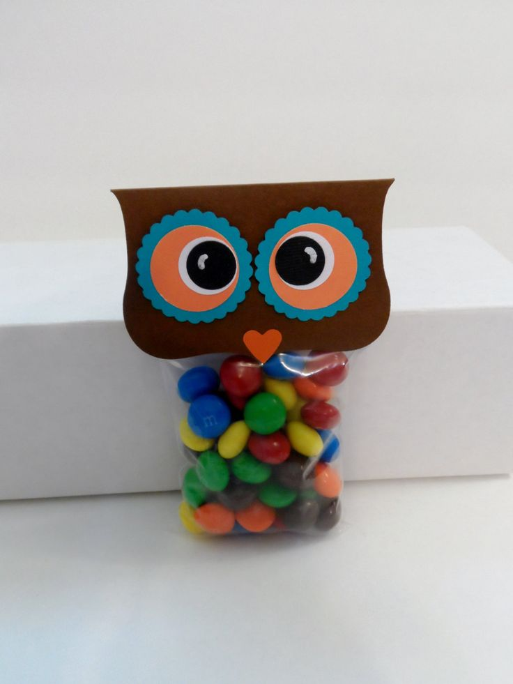 Owl Treat Toppers, Owl Party Favors by PaperKind on Etsy